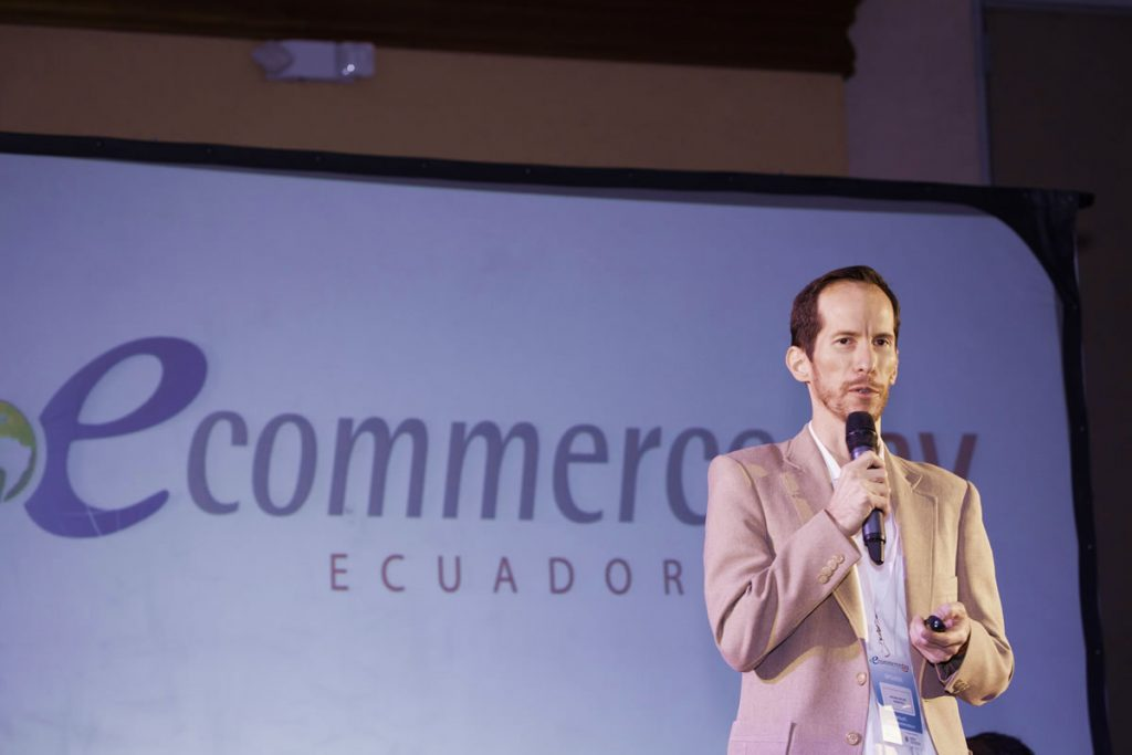 michael muller en ecommerce day quito