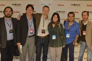 Con James Fox Wendy Vivero y Washington Isquierdo