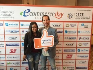 Con Vicky Valverde en el Ecommerce Day Ecuador 2016