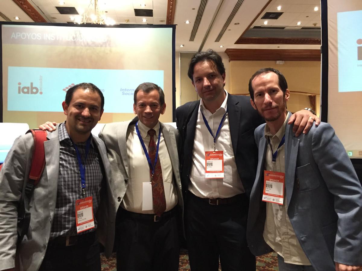 Jacobo Moreno, CTO de Patio Tuerca<br /> Luis Rodriguez, Ejecutivo Global Soluciones de Commercio IBM<br /> Andres Pradilla, Sales Manager VTEX