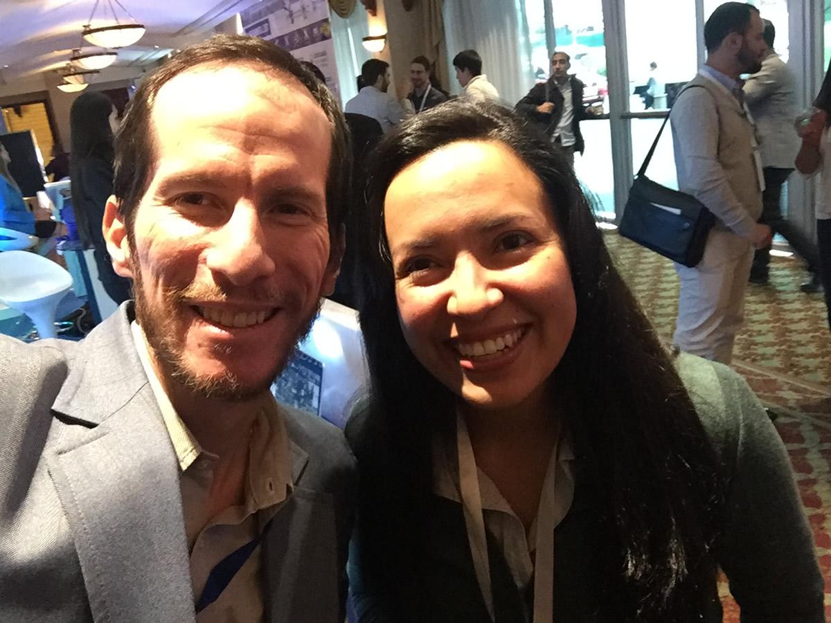 Con Adriana Alban en el Ecommerce Day Ecuador 2016